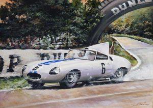 Nueva Referencia CJ46: Jaguar E2A «Le Mans '60»