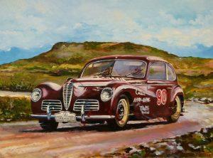 NUEVO MODELO DE SLOT CLASSIC: CJ-51 Alfa Romeo 6C 2500 «Freccia d'Oro»